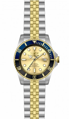 Men's Pro Diver Gold Dial Gold, Stainless Steel Band Automatic Watch