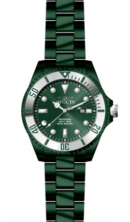 Men's Pro Diver Green Dial Green Stainless Steel Band Quartz Watch