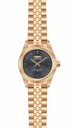 Women's Specialty Black Dial Rose Gold Band Quartz Watch