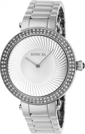 Women's Specialty Silver Dial Stainless Steel Stainless Steel Band Quartz Watch