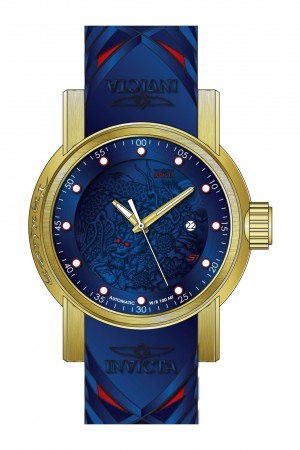 Men's S1 Rally Blue Dial Blue Silicon Band Automatic Watch