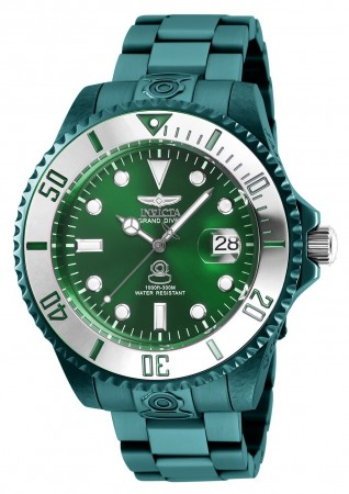 Men's Pro Diver Green Dial Green Stainless Steel Band Automatic Watch