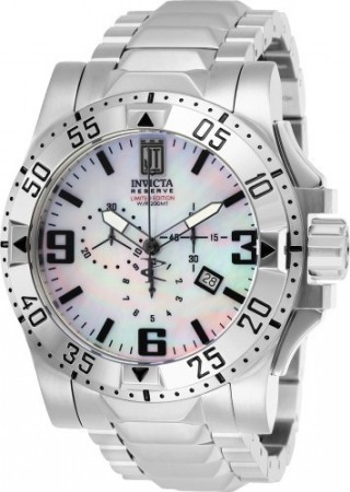 Men's Jason Taylor White Dial Stainless Steel Stainless Steel Band Quartz Watch