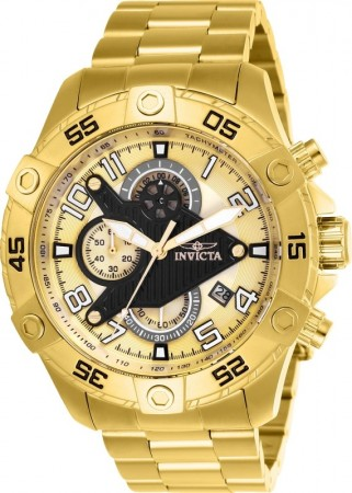 Men's S1 Rally Gold Dial Gold Stainless Steel Band Quartz Watch