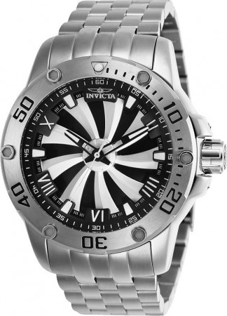 Men's Speedway Black Dial Stainless Steel Stainless Steel Band Automatic Watch