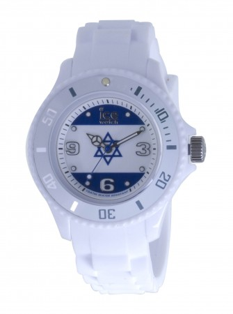 Unisex Ice-World Israel Small Multicolor Dial Watch