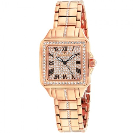 Women's Splendeur Rose Gold-Tone Dial Rose Gold-Tone Stainless Steel Case Back Band Quartz Watch