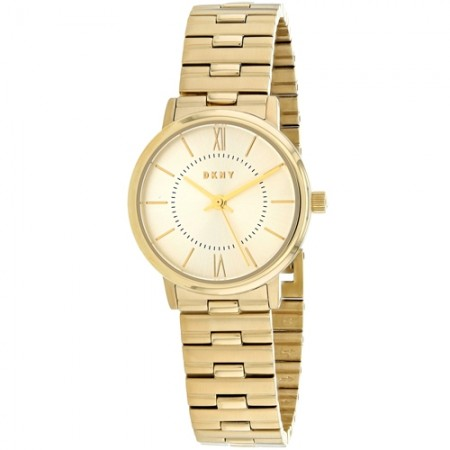 Women's Wiloughby Gold-Tone Dial Gold-Tone Stainless Steel Band Quartz Watch